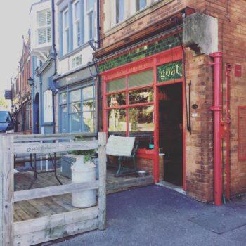 Coffee Shops Poole: Dancing Goat, Ashley Cross