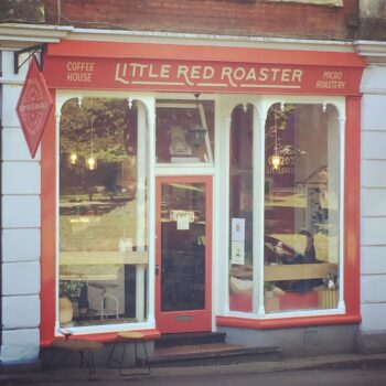 Coffee Shops Poole: Little Red Roaster, Ashley Cross