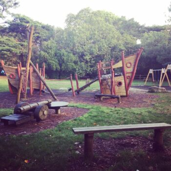 Parks in Poole: Treasure Island Play Area, Canford Cliffs