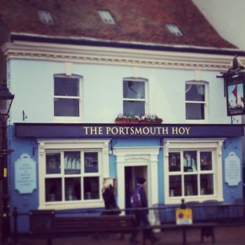 Pubs in Poole Quay and beyond: The Portsmouth Hoy Pub, Poole Quay