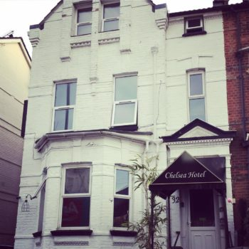 Cheap Bed and Breakfast Bournemouth: Chelsea Hotel, East Bournemouth