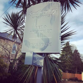 Cheap Bed and Breakfast Bournemouth: Southern Hay Guest House, Alum Chine, Bournemouth
