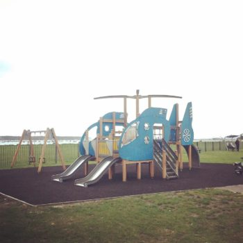 Parks in Poole: Whitecliff playground