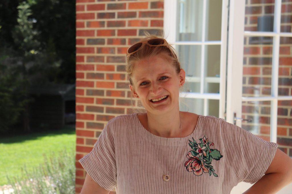 Website author, Charlotte Craig